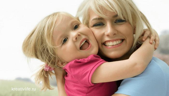 мама с ребенком девочка