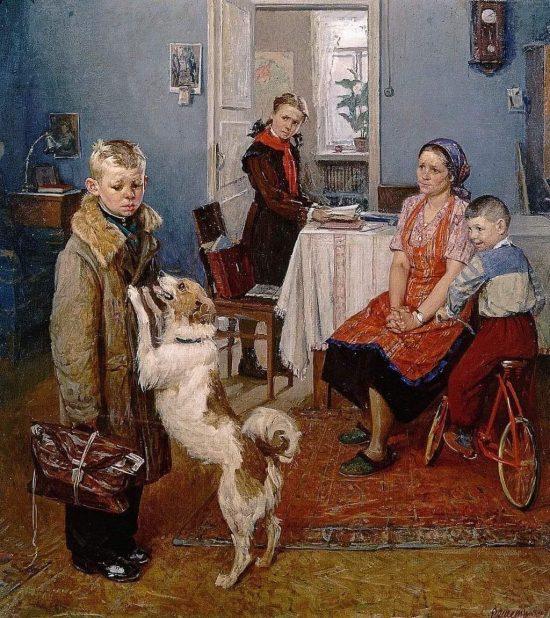 Шaлвa Aмoнaшвили: «Эта картина недля детей написана. Она написана для взрослых»